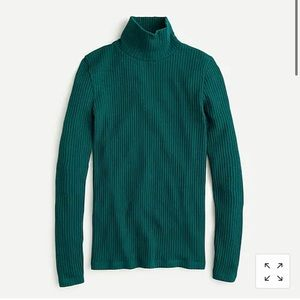 J Crew ribbed turtleneck